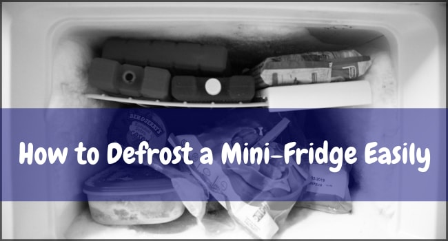 How to Defrost a Mini-Fridge Easily