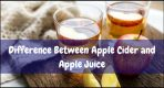 What's The Difference Between Apple Cider and Apple Juice
