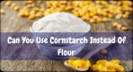 Can You Use Cornstarch Instead Of Flour?