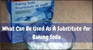 baking soda substitutes
